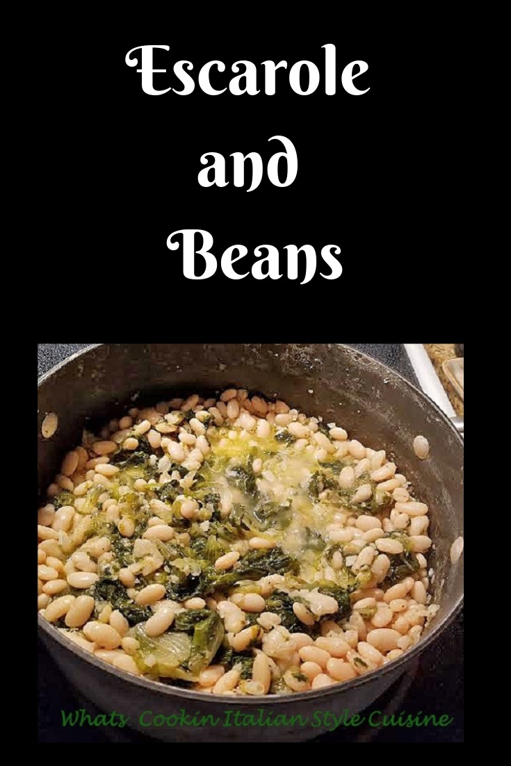 This is a classic Italian food made in Italy and considered peasant food called Escarole and Beans or the Italian term is scahdal and beans