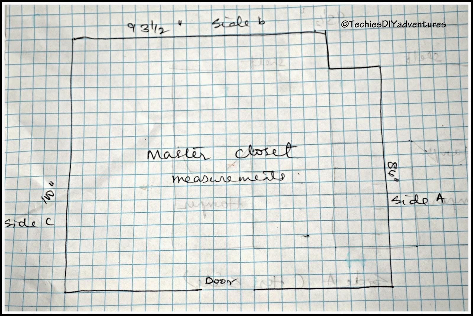 Master Closet Part1 (layout and plan)