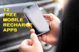 Top twelve Free Mobile Recharge Apps to induce FREE TALKTIME | Android+iPhone