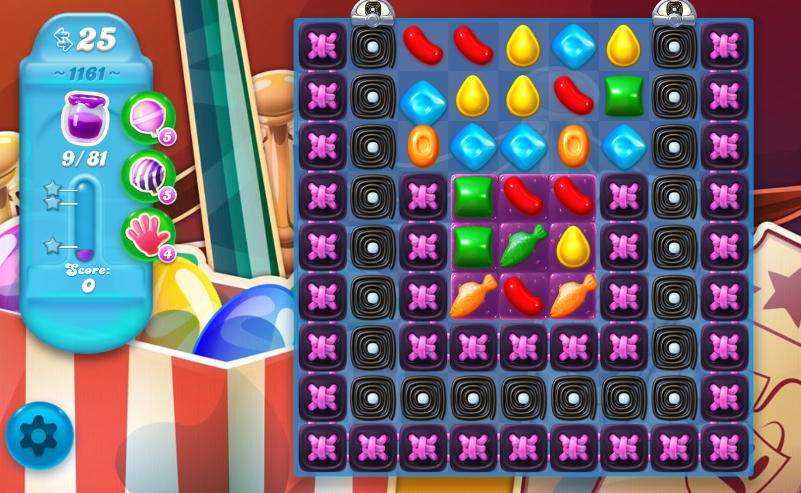 Candy Crush Soda Saga level 1161