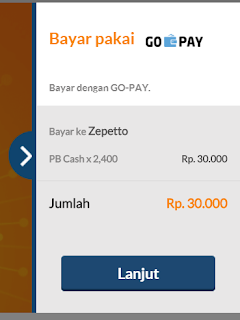 Cara Top Up Cash Point Blank Zepetto Terbaru