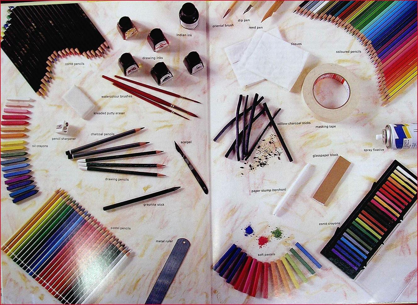 Mari Belajar Pendidikan Seni Visual Peralatan Asas