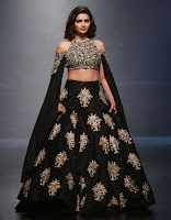 Prachi Desai Backless Lehenga Choli2.jpg