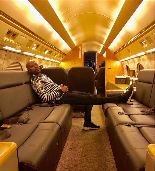 Floyd Mayweather explains why he is arrogant and loves to live a flamboyant lifestyle