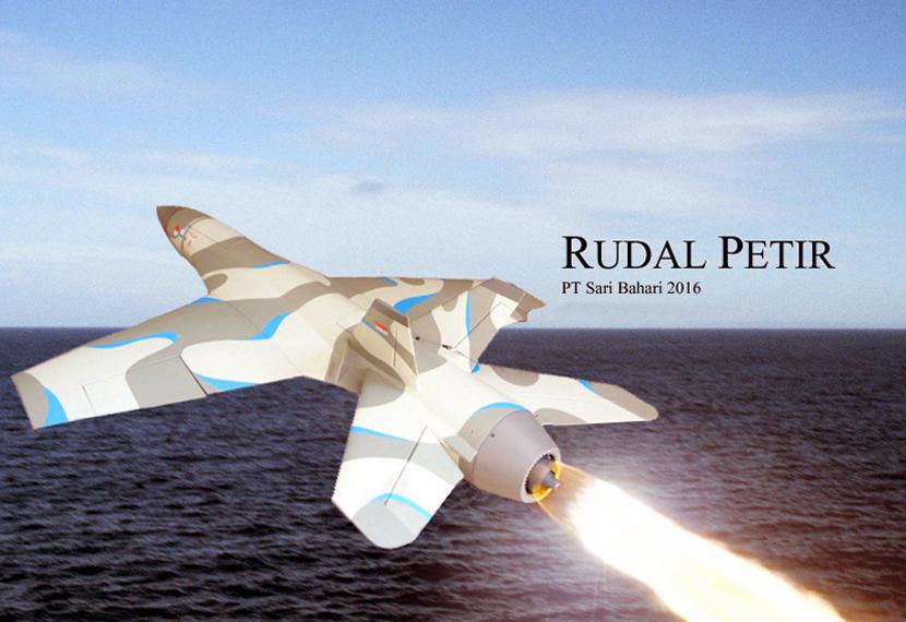 Prototipe Rudal Petir V-101 (2016)