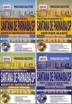 Apostila Concurso Prefeitura de Santana de Parnaíba 2018