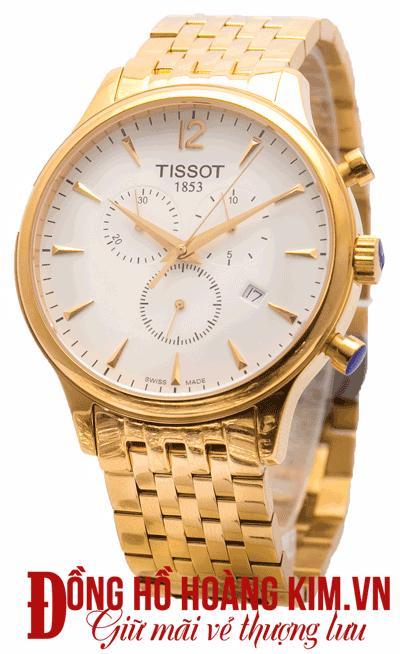 đồng hồ tissot nam dây sắt giảm giá