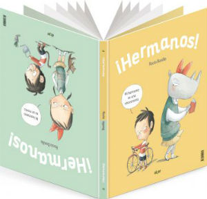 selección cuentos infantiles día del libro 2018 hermanos rocio bonilla emociones