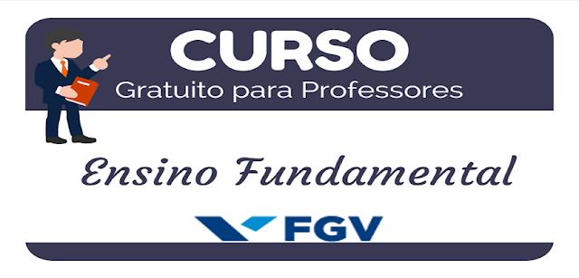 FGV oferece curso gratuito para professor do ensino fundamental