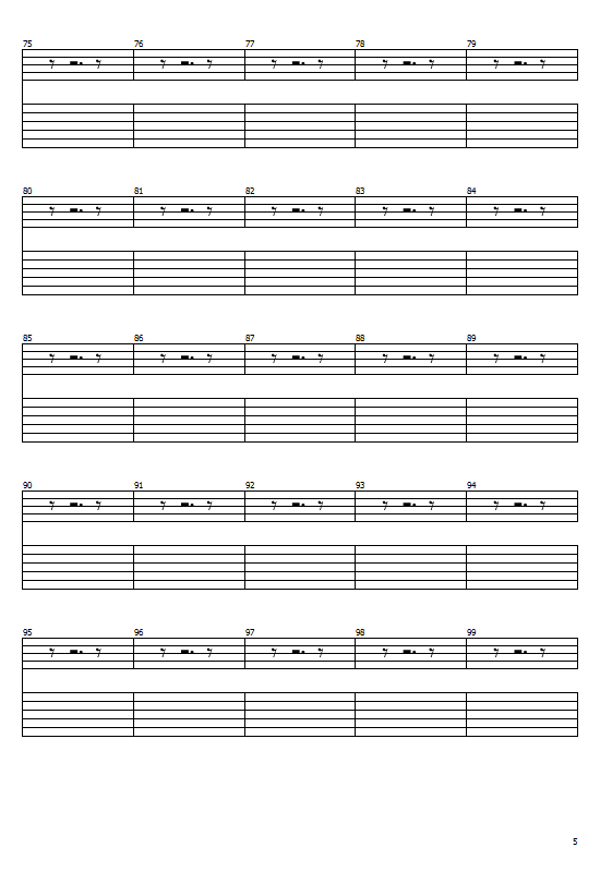 Last Living Souls Tabs By Gorillaz - Last Living Souls Guitar Chords