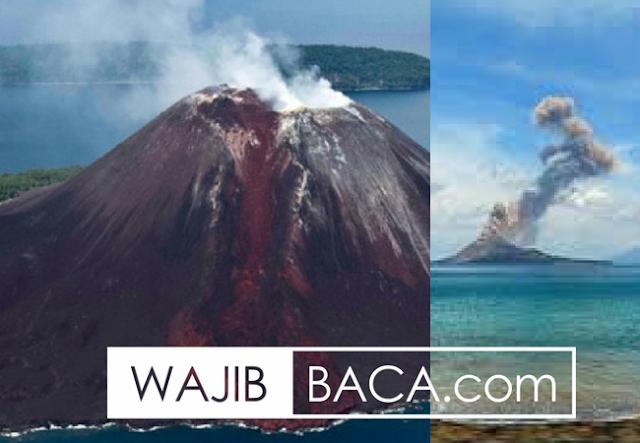Anak Gunung Krakatau Meletus Dasyat, Berikut Rentetan Mengerikan Letusan Induk Krakatau yang Telah Terjadi