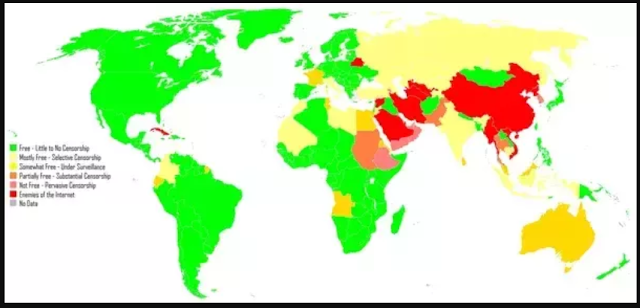List Of  Top 10 Countries where using VPN is Banned