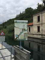 Parco Adda Nord - passaggio artificiale per pesci sbarramento Italgen.