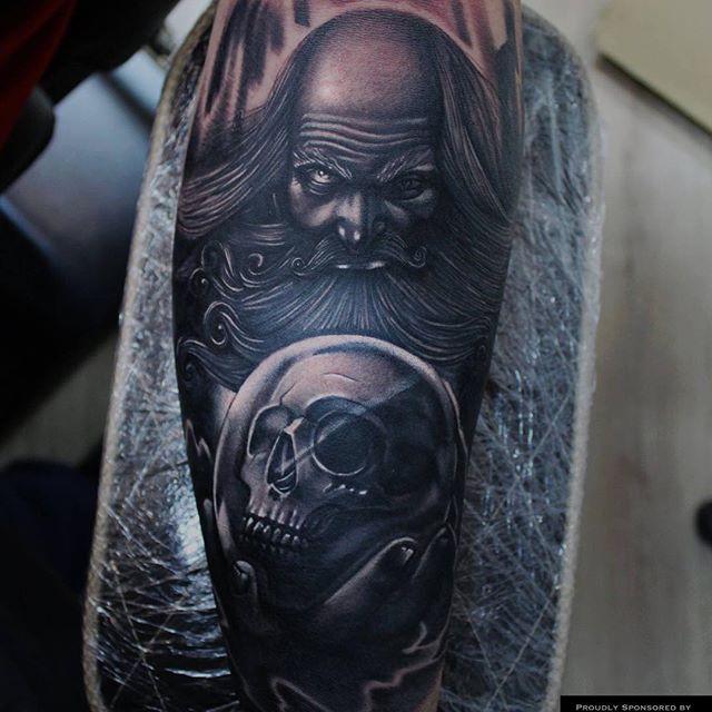 Tatuae de brujo oscuro