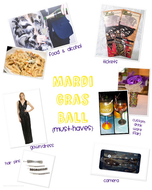Cordier Events must-haves for Mardi Gras Ball