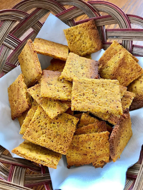 copycat gluten free wheat thins