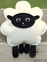 Swoodson sheep pillow