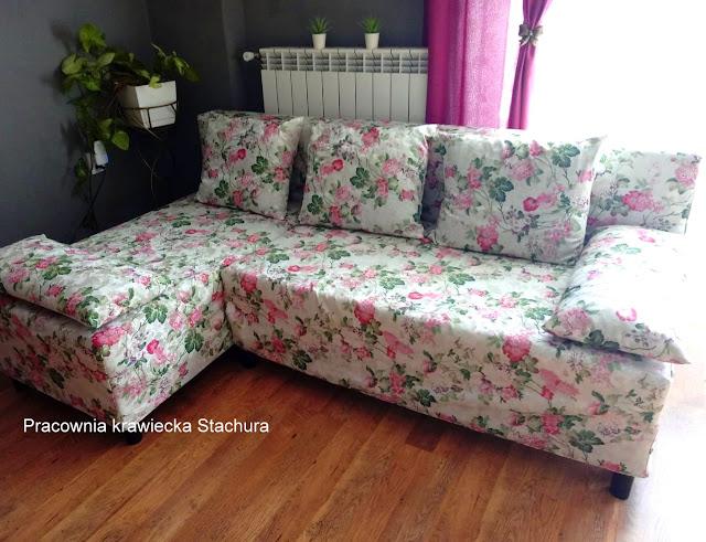 Sofa kwiaty