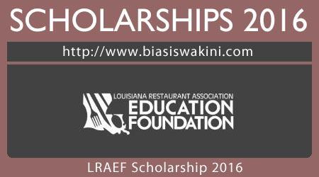LRAEF Scholarship 2017