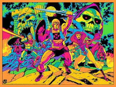 "Masters of the Universe ""Third Eye Of Eternia"" Screen Print by Tim Seeley x Mark Englert x Mad Duck Posters – A Tribute to Jack Kirby!"