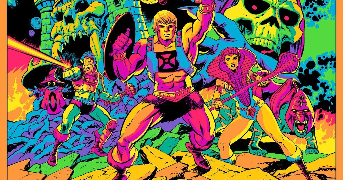 """The Blot Says...  Masters of the Universe """"Third Eye Of Eternia"""" Screen  Print by Tim Seeley x Mark Englert x Mad Duck Posters – A Tribute to Jack  Kirby! 25f9273e8d8a"""