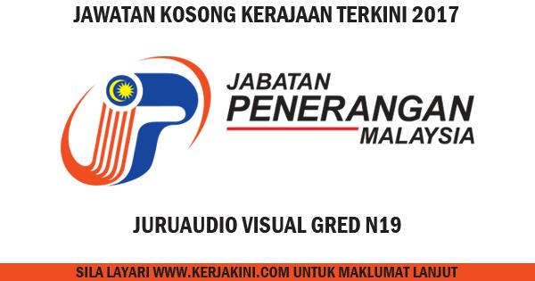 jawatan kosong 2017 jabatan penerangan malaysia