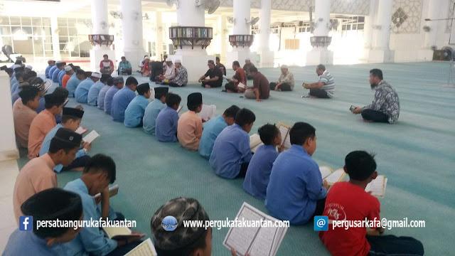 KAFA An Nadwah Masjid Negeri - Solat Hajat dan Bacaan Yasin Sempena UPKK 2016