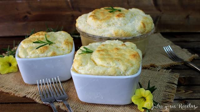 Soufflé de queso fresco