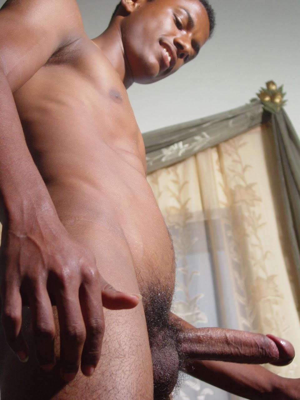 Young black men masterbating — 6