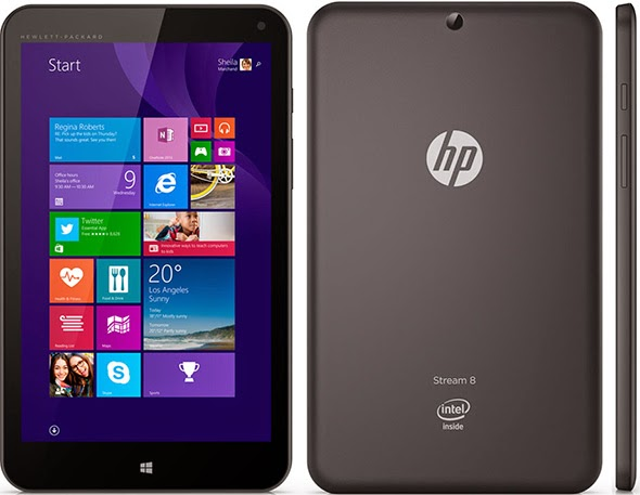 HP Stream 8 Windows 8.1 tablet