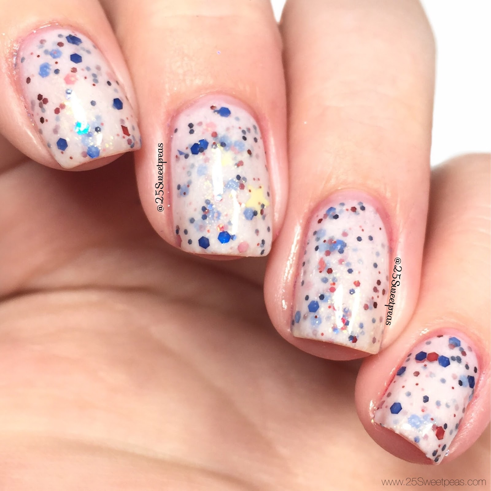 Pretty Beautiful Unlimited Star-Spangled Glitter