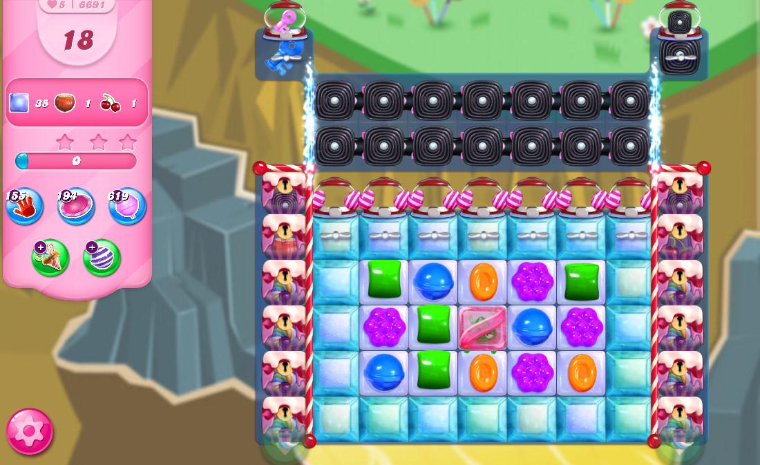 Candy Crush Saga level 6691