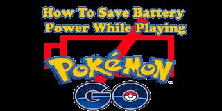 7 Cara Paling Ampuh Untuk Menghemat Baterai Hp Saat Main Pokemon Go