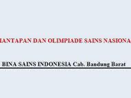 Lowongan Kerja Bina Sains Indonesia Pekanbaru