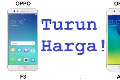 Harga Dan Spesifikasi F3 dan Oppo A57 Terbaru