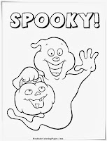 Spooky Printable Halloween Kids Coloring Pages
