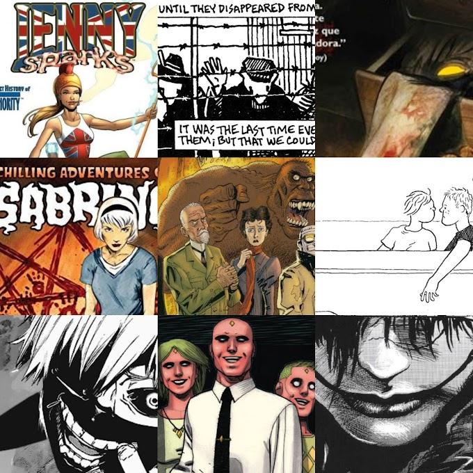 2018 en cómics: Mis doce cómics favoritos que he leído este año