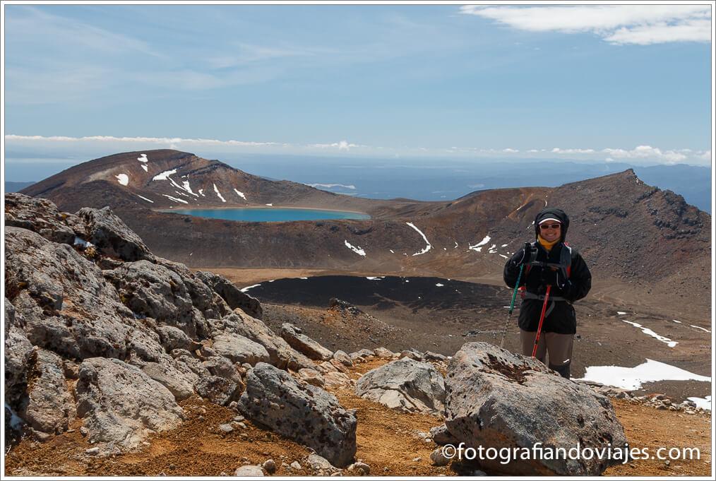 Blue Lake en Tongariro Alpine Crossing