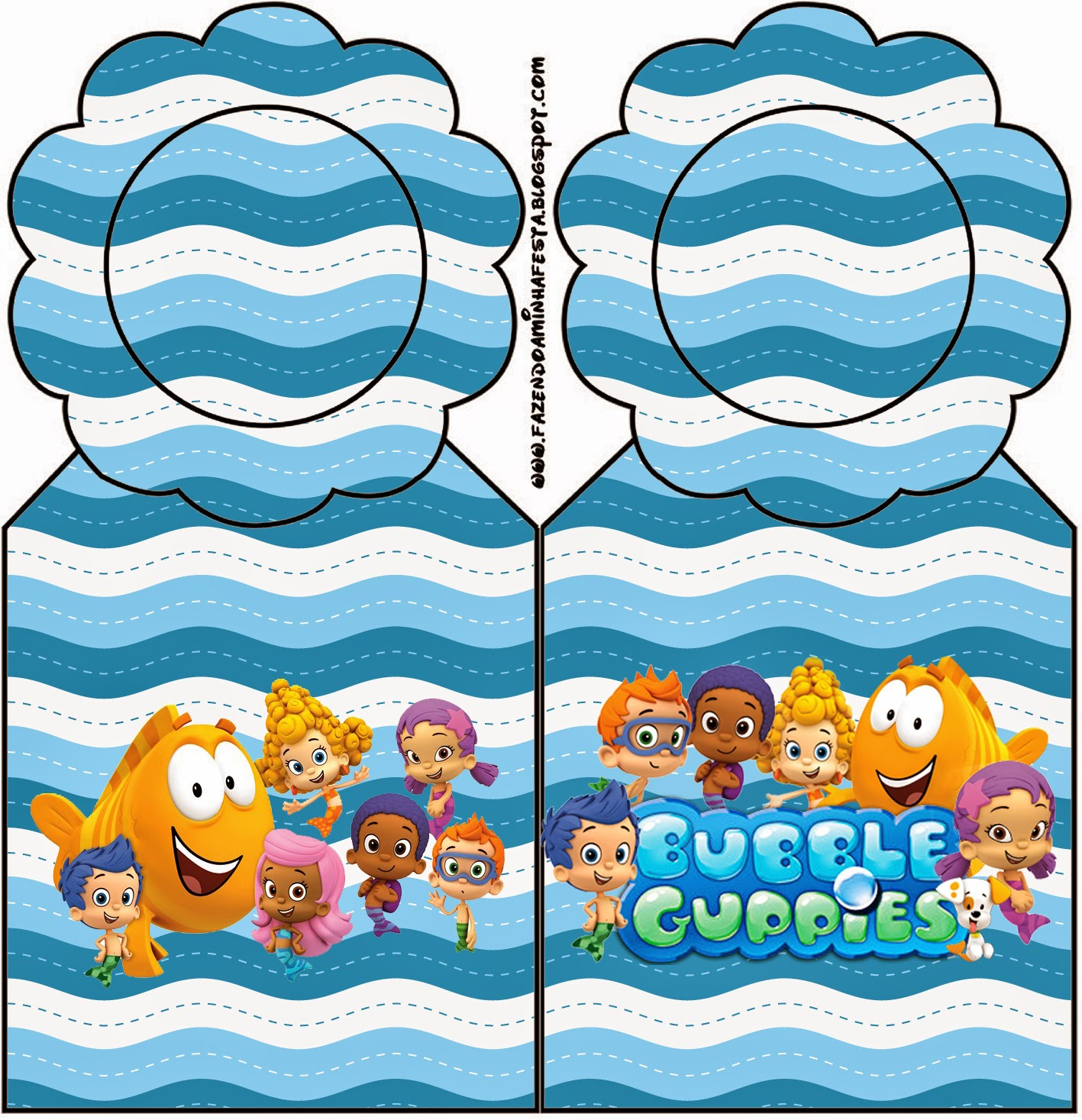Bubble Guppies Free Party Printables