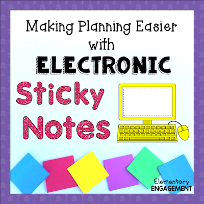 This post shows how you can use Electronic Sticky Notes to help keep your schedule organized.