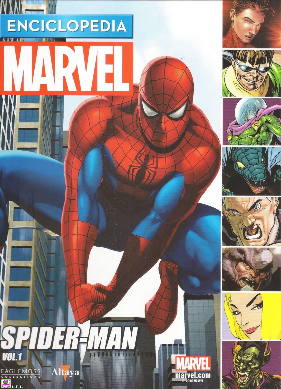 Enciclopedia marvel spiderman pdf editorial altaya identi - Marvel spiderman comics pdf ...