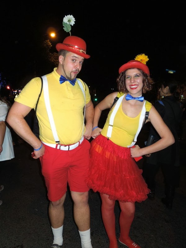 Tweedle Dee Dum costumes West Hollywood