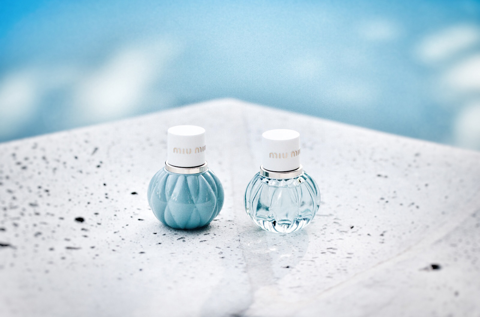 miu miu l'eau bleue premier parfum miniatures avis test