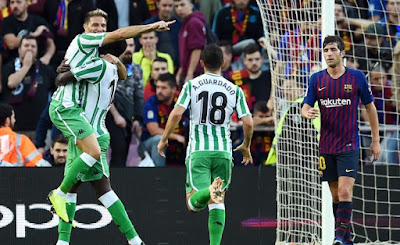 Watch Barcelona 3-4 Real Betis La Liga Highlights