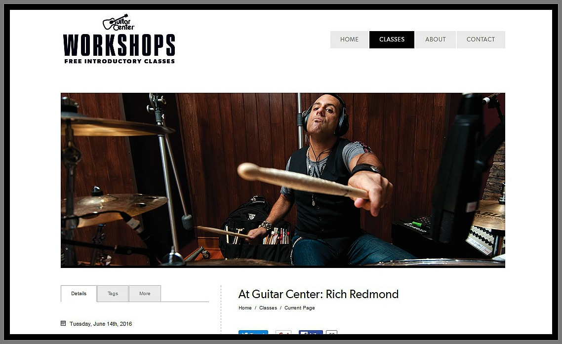 latest news from beier drums rich redmond guitar center workshop hollywood. Black Bedroom Furniture Sets. Home Design Ideas