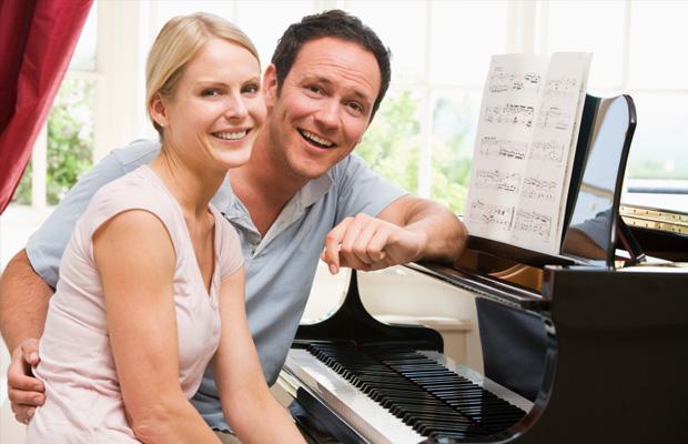 Học piano giúp giảm căng thẳng