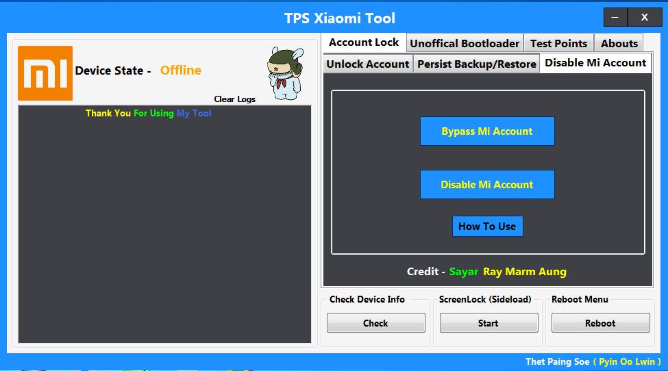 Xiaomi Mi Frp Mi Account Amp Oem Unlock Tool Braincode