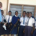Police officer goes against service order by allowing pupils hold his firearms