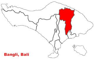 image: Bangli Map location