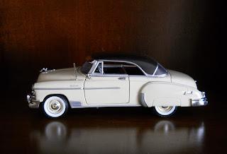Chevy Bel Air 1950 escala 1/24 de Motormax
